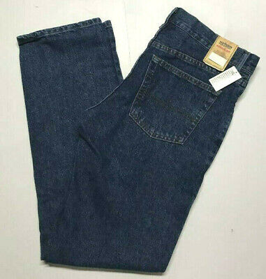 URBAN PIPELINE Jeans Regular Fit Blue Straight Leg 100% Cotton Dark Stonewash