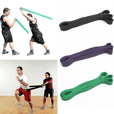 Pull Up Resistance Body Stretching Band Loop Power Gym Exercise Fitness Yoga Fil