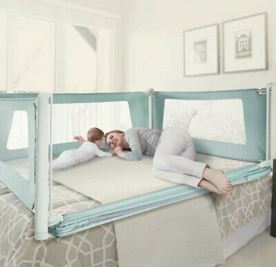 Brand New BabyCare guardrail on bed
