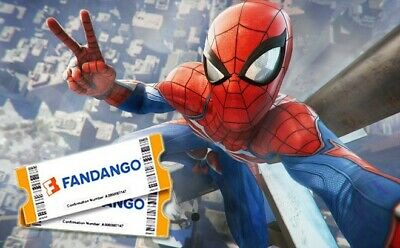 FREE TICKET Fandango Promo Code for Marvel's Spider-Man: Far From Home $14 VALUE