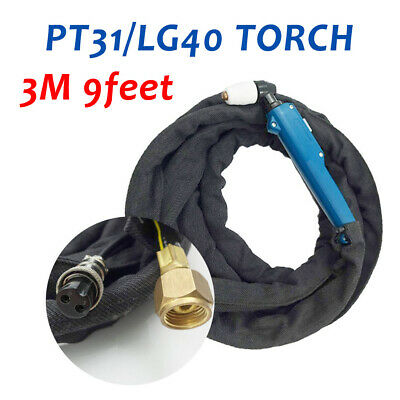 Air Plasma Cutter Cutting Torch Gun 3M Completed PT31 LG-40 Fit CUT50D CUT50