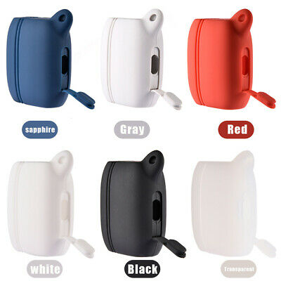 Silicone Case With Keychain Earphone Protective Cover Pouch For Jabra Active 65t
