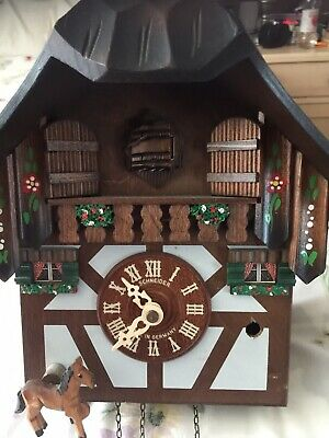 Schneider cuckoo clock for Parts or repair