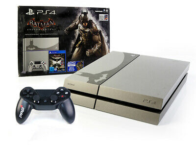 SONY PS4 Konsole 500GB - BATMAN ARKHAM KNIGHT LIMITED EDITION + Controller