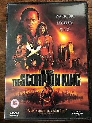 Scorpion King DVD 2002 Mummy Action Horror Sequel with Dwayne The Rock Johnson