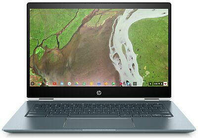 HP x360 14 Inch Intel Pentium 4GB RAM 32GB eMMC HDD Chromebook - White