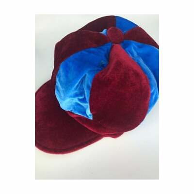 Football Supporters Aston Villa West Ham Claret and Sky Blue Jester Hat