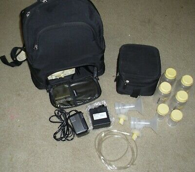 MEDELA Pump in Style Advanced Double Electric BREASTPUMP +Accessories & BACKPACK