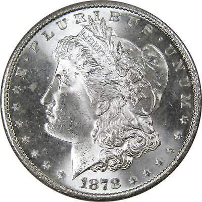 1878 S $1 Morgan Silver Dollar US Coin BU Choice Uncirculated Mint State