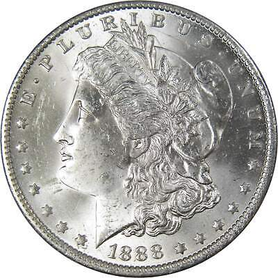1888 O $1 Morgan Silver Dollar US Coin BU Uncirculated Mint State