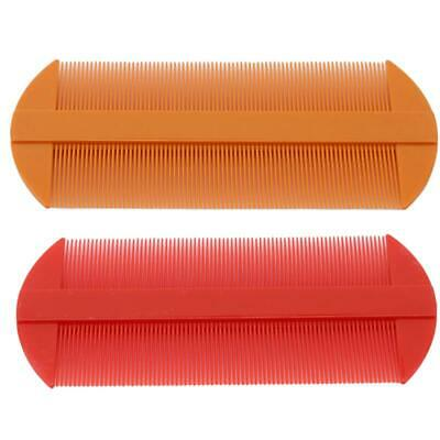 Durable Double Sided Nit Combs for Head Lice Detection Comb Kids Pet Flea LA