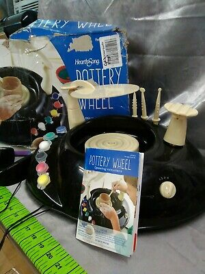 Pottery Wheel For beginners children ages 8 and up hearth song condition is used