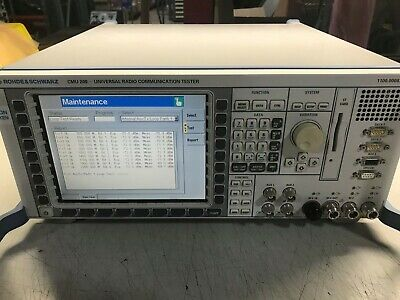 Rohde and Schwarz CMU200 **Lots of Options**