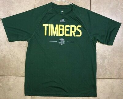 Adidas Men's Portland Timbers MLS Soccer Graphic T Shirt - (Size M) Green