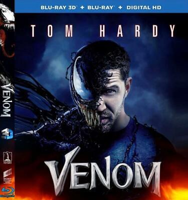 Venom 3D Blu-ray Region Free Flash Sale