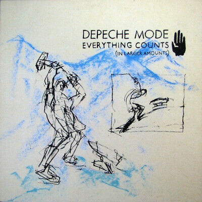 Depeche Mode : Everything Counts 12 Inch In Larger Amounts Mix : Original Vinyl