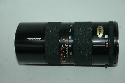 Tamron 85-210 Mm F/4.5  Zoom Lens.  Adaptall Mount Fitting :