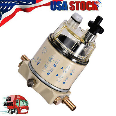 Brand New For R12T Boat Marine Spin-on Fuel Filter / Water Separator 120AT