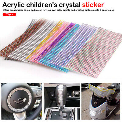 Children's Toys Crystal Sticker Mobile/PC Art Stickers Self Adhesive Scrapbook