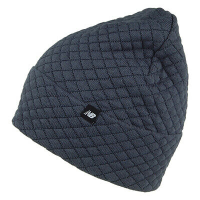 Plain Grey Peaked Beanie Hat BH3006 New