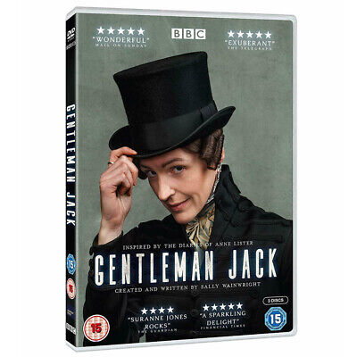 Gentleman Jack Season 1 The Brand New Sealed UK DVD Region 2 Free Postage