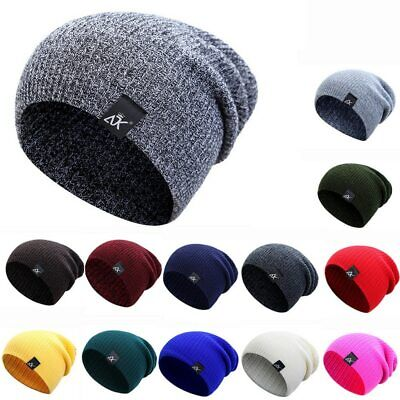 SOFT SKULL KNITTING Chunky Caps New Beanies Hat Women for