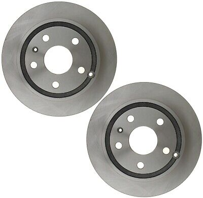 Pair Set 2 Rear Disc Brake Rotors ACDelco For Chevrolet Impala Limited LS LT LTZ