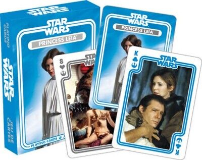 Star Wars Princess Leia Organa Photo Illustrated Playing Cards Deck NEW SEALED