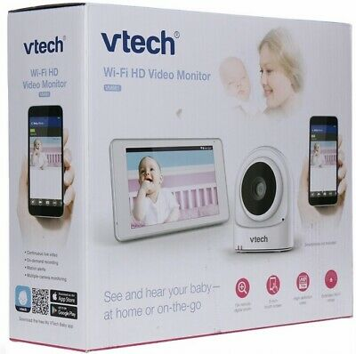 VTech VM981 Wireless WiFi Video Baby Monitor with Remote Access App, 5-inch