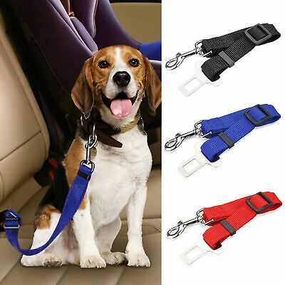 Adjustable Car Safety Seat Belt Harness Travel Lead Restraint Strap For Dog Pet