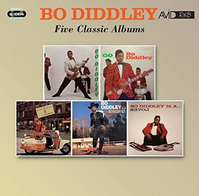 Bo Diddley-Four Classic Albums (UK IMPORT) CD NEW
