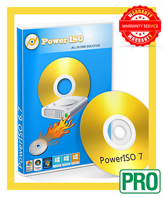 Power Iso 7.4 2019 : CD/DVD Ripper Burn  🔑 Product Key 🔑 Instant delivery 🔥🔥