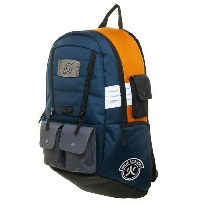 Naruto Shippuden Hidden Leaf Village Built-Up Anime Backpack Bag