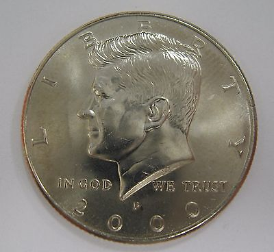 2001 P D S Kennedy Half Dollars With 2x2 Snaps from Mint Sets Combined Shipping