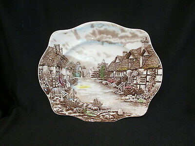 Johnson Brothers - OLDE ENGLISH COUNTRYSIDE - Oval Platter 13 inch