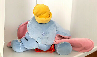 Disney Parks Dream Friends Sleeping Baby Dumbo 18 inch Plush Doll