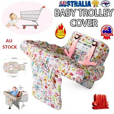 NEW Baby Shopping  Trolley Cart Cover Seat & Child High Chair Protector Pad Mat
