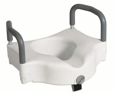 Brand NEW RAISED TOILET SEAT  with armrests