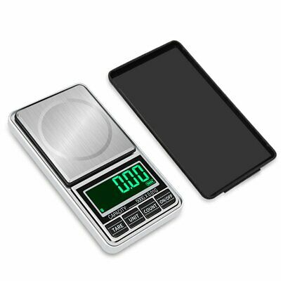 Digital Pocket Jewelry Weigh Scale High Precision USB Charging 500g/0.1g 0
