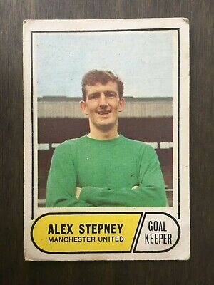 A&BC Green Back 1969 Series 2 (65 to 117) #89 Alex Stepney Manchester United