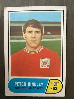 A&BC Green Back 1969 Series 2 (65 to 117) #90 Peter Hindley Nottingham Forest