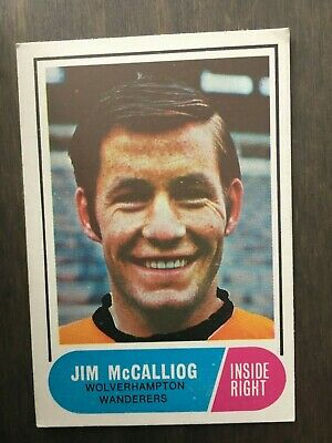 A&BC Green Back 1969 Series 2 (65 to 117) #100 Jim McCalliog Wolves