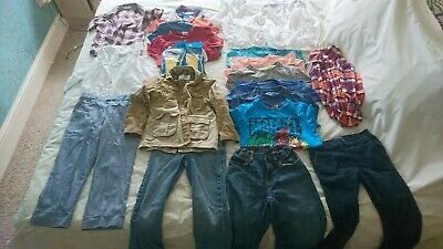 Bundle of boys clothing Ages Between 5 and 7