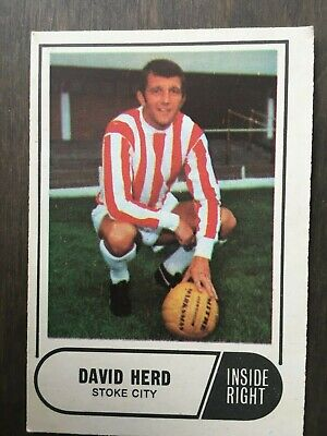 A&BC Green Back 1969 Series 3 (117 to 170) #133 David Herd Stoke City