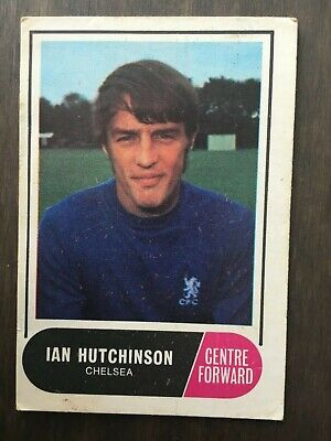 A&BC Green Back 1969 Series 3 (117 to 170) #153 Ian Hutchinson Chelsea