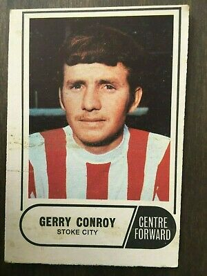 A&BC Green Back 1969 Series 3 (117 to 170) #161 Gerry Conroy Stoke City