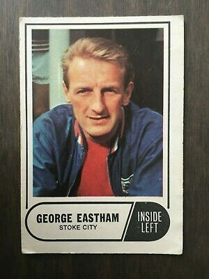 A&BC Green Back 1969 Series 3 (117 to 170) #166 George Eastham Stoke City