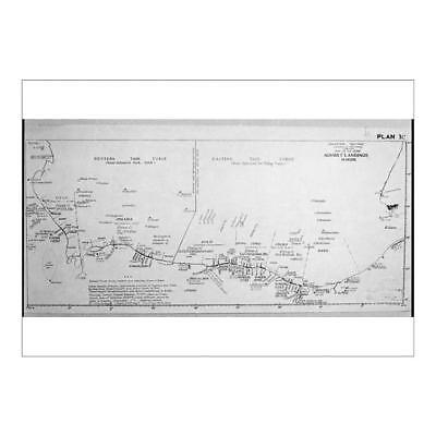 A1 (84x59cm) Poster of D-DAY MAP 1944 from