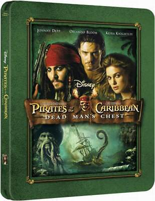 """""""PIRATES OF THE CARIBBEAN - DEAD MAN'S CHEST"""" - ltd BLU RAY STEELBOOK Embossed"""