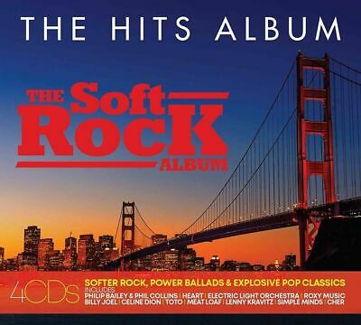 THE HITS ALBUM: THE SOFT ROCK ALBUM 4 CD - Various Artists (Released 2/08/2019)
